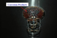 Sprinkler corrosion
